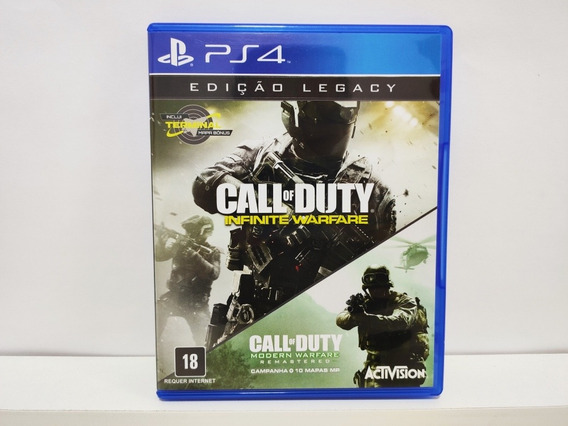 Call Of Duty Infinite Warfare Edição Legacy Ps4