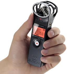 Gravador Digital Áudio Zoom H1 Handy Recorder