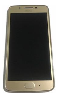 Modulo Pantalla Moto G5 Xt1670 *original* Motorola Dorado