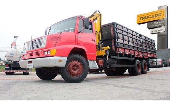 Mb 1621 6x2 Truck Munck 10 Carroceria = Volks Volskwagen