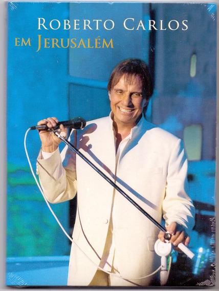 Dvd Roberto Carlos - Em Jerusalém / Digipack - Novo***