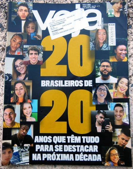 Revista Veja 2668 Larissa Manoela Racionais Cléo Pires 2020