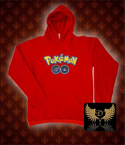 Blusa Moletom Pokémon Go Masculino E Feminino