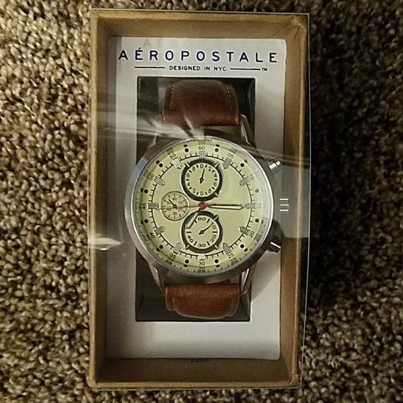 Relógio Fem Aeropostale Original Pouco Usado C/ Caixa Origin