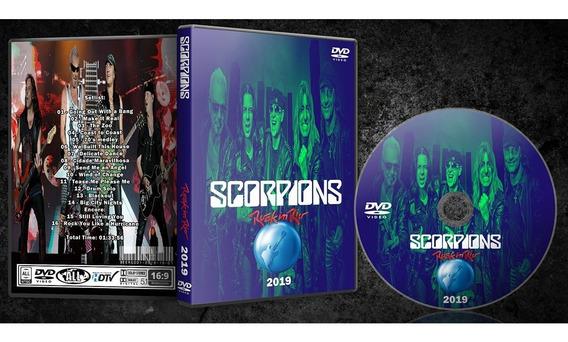 Dvd Scorpions - Rock In Rio 2019 - C/ Box + Foto Brinde