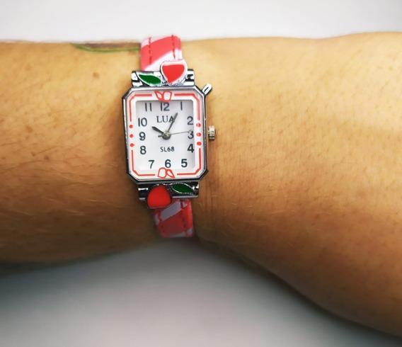 Kit De Relógio E Pulseira Com Strass