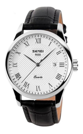 Reloj Skmei Cakcity Casual Cuarzo Plateado Hombre