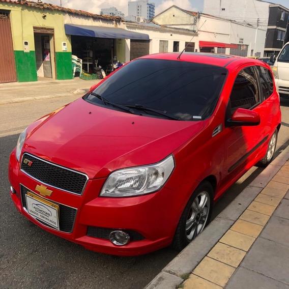 Chevrolet Aveo 3 P Full Equipo