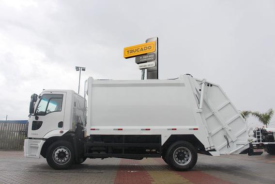 Ford Cargo 1723 4x2 Compactador De Lixo Meg = 1418 1517 1318