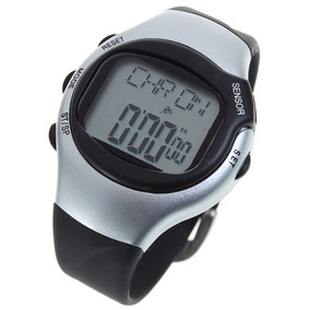 Digital Pulse Rate Calories Counter Timer Watch With Alarm -