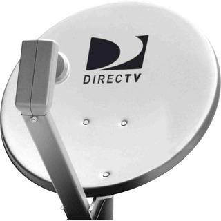Lnb Directv + Antena + Elementos De Fijación