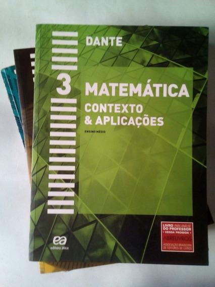 Colecao Matematca Dante (com 3 Manuais De Resolucao)