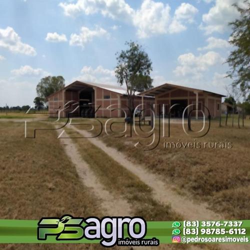 Imagem 1 de 8 de Fazenda À Venda, 3000 Hectares Por R$ 33.000.000 - Centro - Porto Murtinho/ms - Fa0129