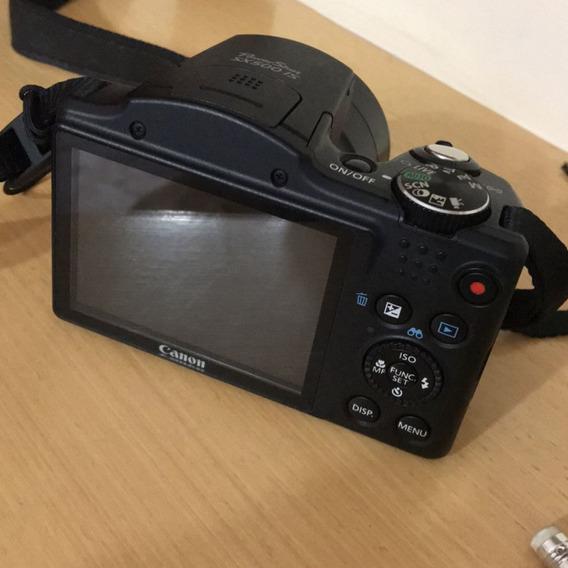 Máquina Fotográfica Canon Sx400 Is 16mp Zoom Óptico 30x