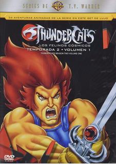 Thundercats Los Felinos Cosmicos Temporada 2 Volumen 1 Dvd