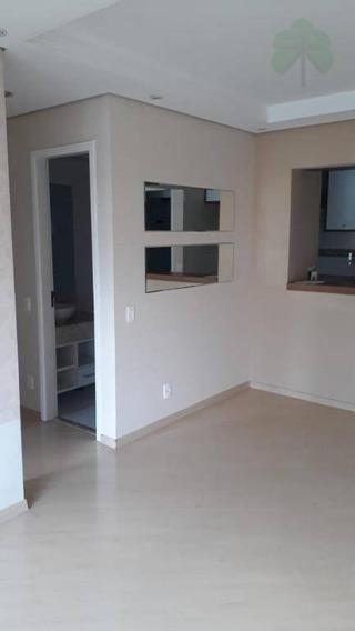 Apartamento Com 2 Dormitórios Para Alugar, 58 M² Por R$ 2.000/mês - Jardim Bonfiglioli - São Paulo/sp - Ap0803