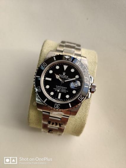 Relógio Masculino Suíço Submariner Preto