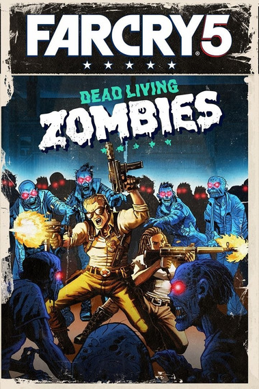 Far Cry 5 Dead Living Zombies Pc - Dvd Frete Gratis