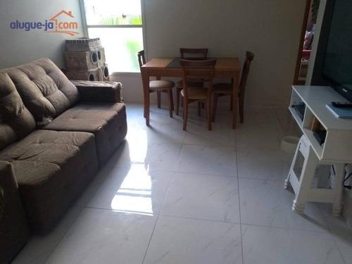 Imagem 1 de 11 de Apartamento Com 2 Dormitórios À Venda, 54 M² Por R$ 190.000,00 - Jardim Terras Do Sul - São José Dos Campos/sp - Ap12533