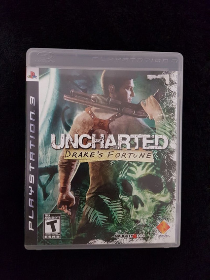 Uncharted Drakes Fortune Ps3 - Play 3-playstation 3-original