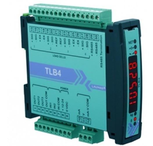 Tlb4 Transmisor De Peso Analógico Y Digital Rs485, Display