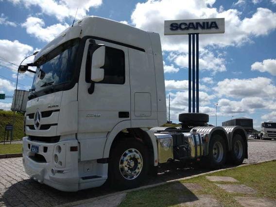 Mb Actros 2646, 6x4, 2016 Scania Seminovos Pr 7b31