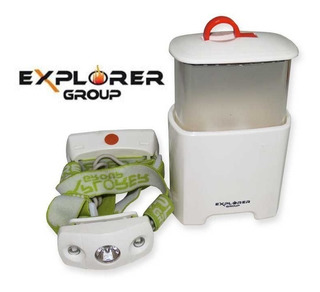 Linterna Explorer Group Hl-005 Cree Led 2en1