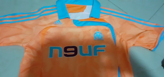 Camisa Olympique Marseille Infantil Laranja