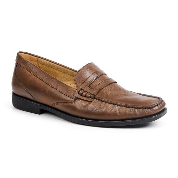 Sapato Masculino Mocassim Sandro Moscoloni Point Marrom