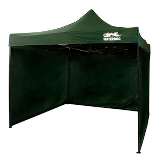 Gazebo Waterdog 3 Paredes Plegable Outdoor + Soga Estacas