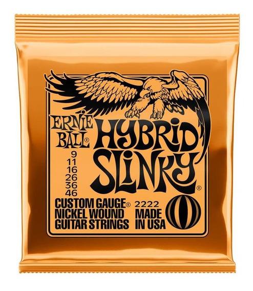 Ernie Ball P02222 Original Slinky Nickel Wound 9-46 Hibrida