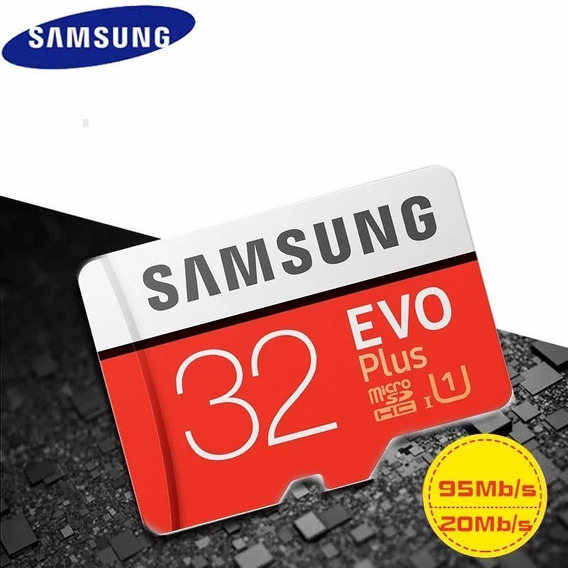 Cartão Micro Sd 32gb Samsung Evo Plus Classe 10