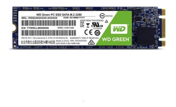 Ssd - M.2 (2280 - Sata) - 120gb Western Digital Green Wds120g2g0b