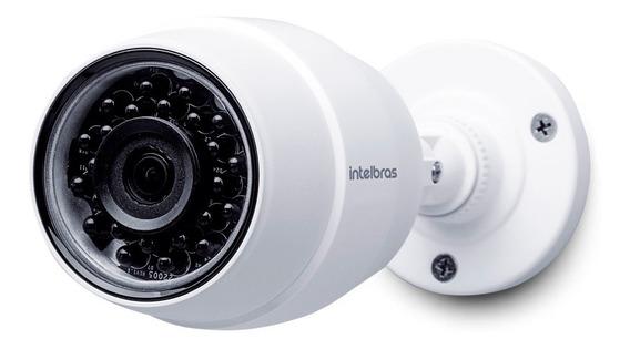 Câmera De Segurança Intelbras Wifi 1mp Hd Externa Ic5 Branca