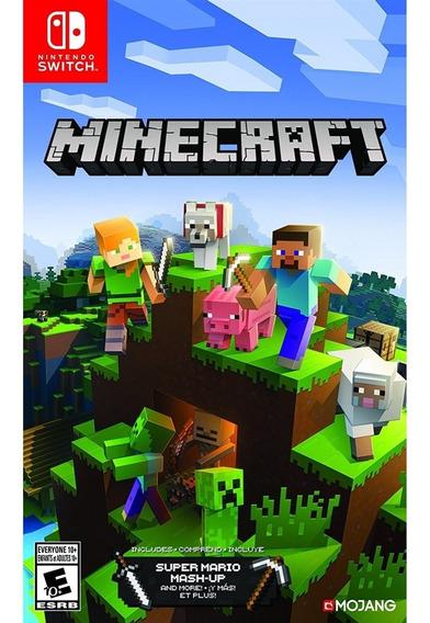 Minecraft Switch Lacrado Original Novo Envio Rápido