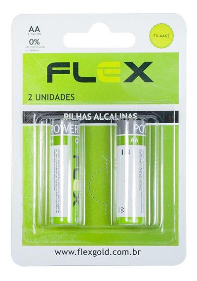 Pilha Alcalina C/ 2unid Fx-aak2 Flex