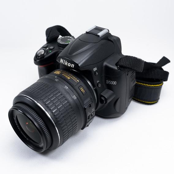 Câmera Nikon D5000 13.000 Cliques E Lente 18-55 (leia Tudo)