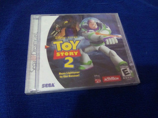 Toy Story 2 Buzz Lightyear To The Rescue Dreamcast Sellado