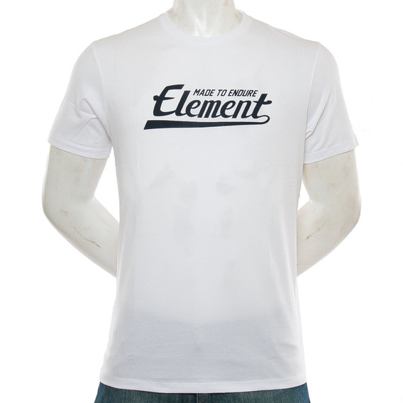 Remera Signature Blanca Element Fluid Tienda Oficial