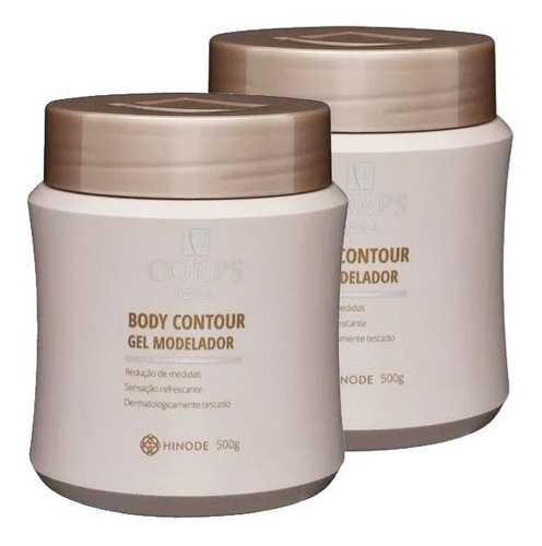 2x Gel Reductor Corps Hnd Hinode Para Abd - g a $50