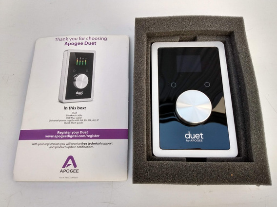 Interface De Aúdio Apogee Duet Usb 2in X 4out