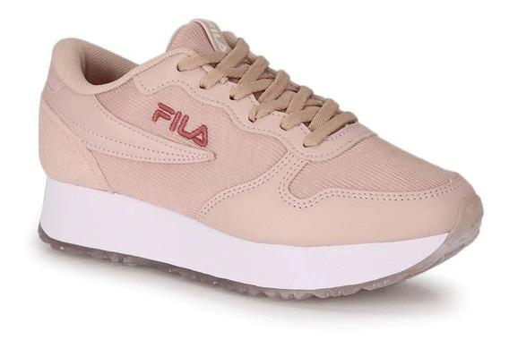 Tênis Fila Feminino Euro Jogger Wedge Sl 877431 - 827897