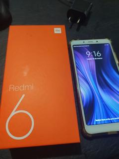 Celular Xiaomi Redmi 6 64gb - 4gb Ram Libre!!