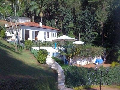 Chácara Com 4 Suítes E Área De 4240 M2 Pé Na Água À Venda, - Chácaras Condomínio Recanto Pássaros Ii - Igaratá-sp - Ch0046