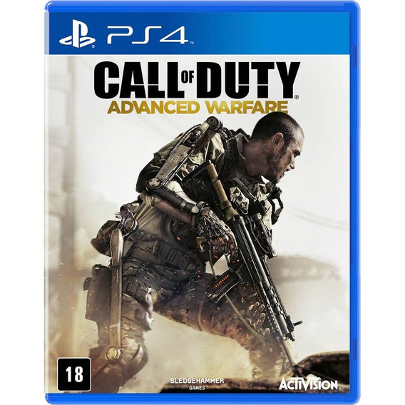Call Of Duty Advanced Warfare Ps4 - Mídia Física 100% Pt-br