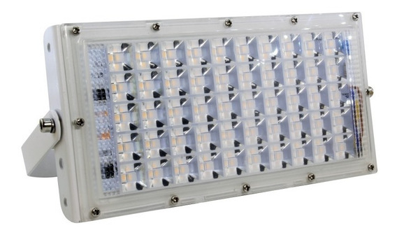 Refletor Modulado Led Ip67 50w Cor De Luz: Branca