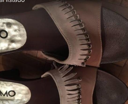 Zapatos Zuecos Viamo 36