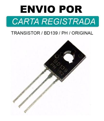 Imagem 1 de 1 de Bd139 * Transistor Bd139-16 * Original * Carta Rg (1 Peça)