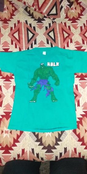 Remera Niño Hulk