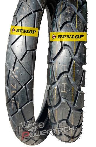 Juego Cubiertas Dunlop Mixtour 90 / 90 - 21 Y D604 120/80-18